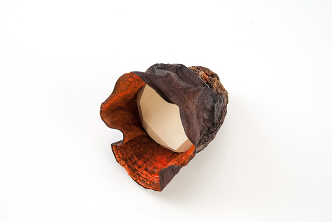 Auberginen Ring von Sari Räthel