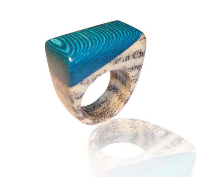 Ringe aus Büchern von Paschiri