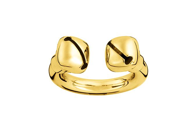 Ina Beissner Gold plattierter Ring Adeline