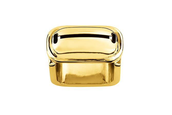 Ina Beissner Ring Geane Gold plattiert