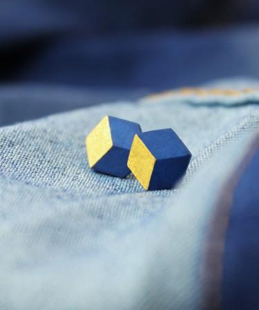 Geometrische Ohrringe von Pictofactum