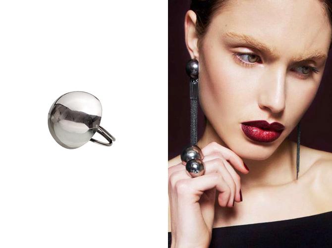 Runder Kugel-Ring von Ninna York Jewellery, Kopenhagen