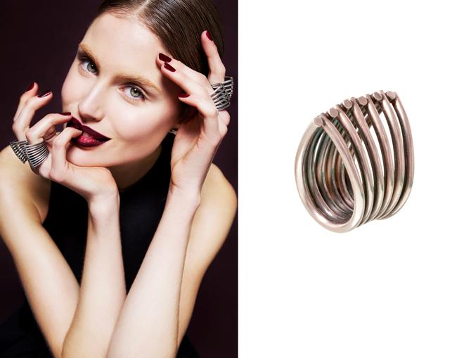 Große Metall Ringe von Ninna York Jewellery Kopenhagen
