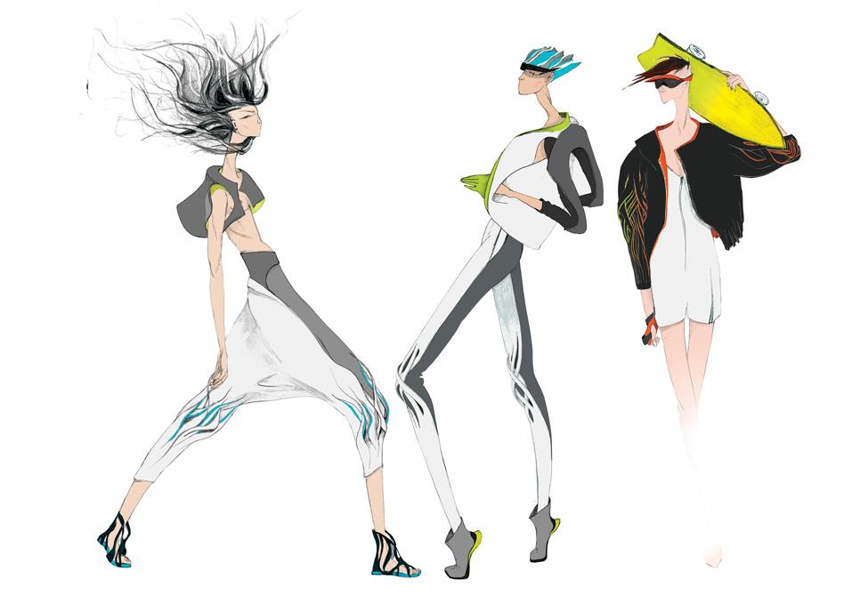 Fashion Illustration Audi Fashion Award 2014