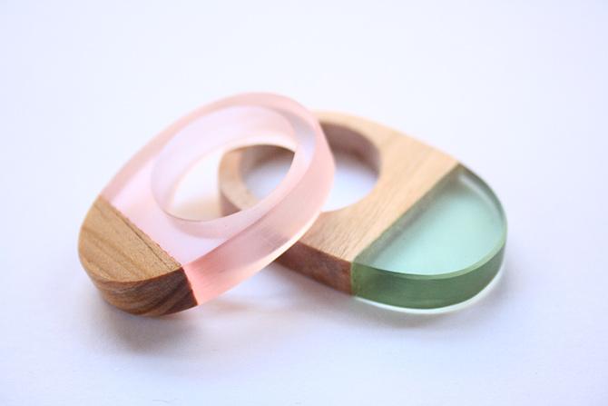 Holz & Harz Ringe von BoldB aus Australien
