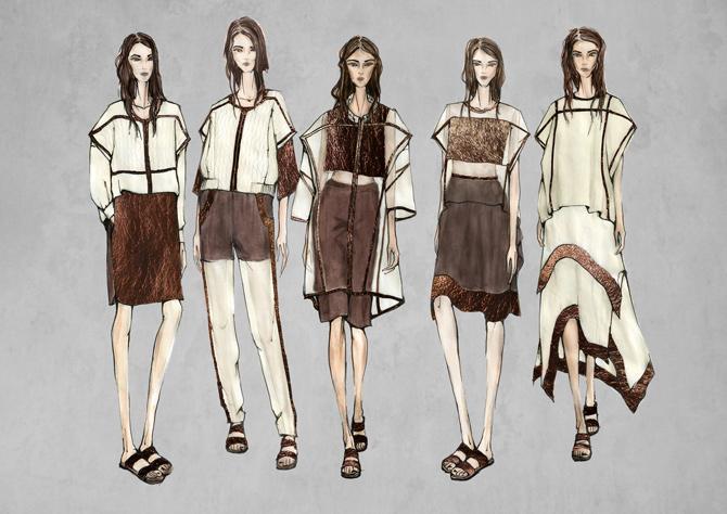 Mode-Illustration Maike Modrow