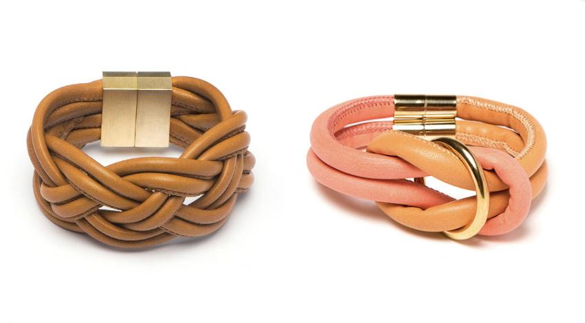 Knoten-Armbänder von Royal Blush