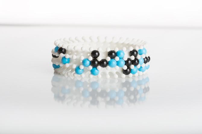 3D-Perlen-Armband von Produktdesigner bza
