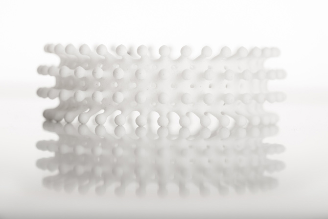 3D-Perlen-Armband von bza aus Berlin