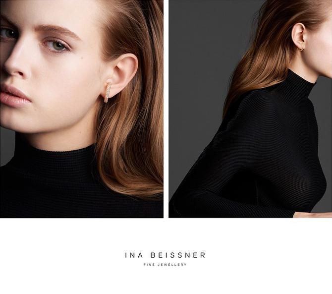 Ohrring von Ina Beissner