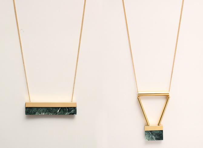 Marmor-Ketten von Marion Vidal