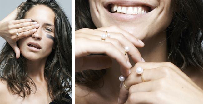 Perlenringe von Sophie Bille Brahe
