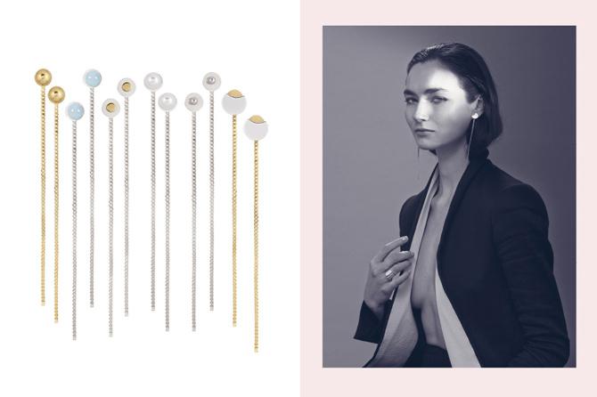 Lange Ohrringe von Cocii
