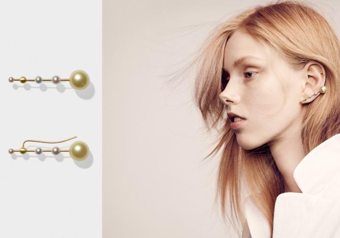 Ohrringe von Line Jo