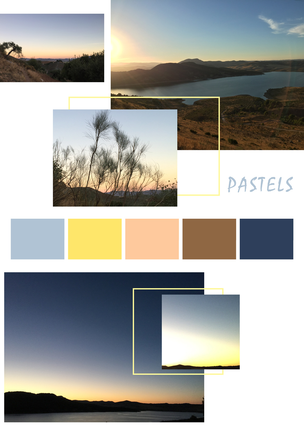Pastell Farben in Andalusien