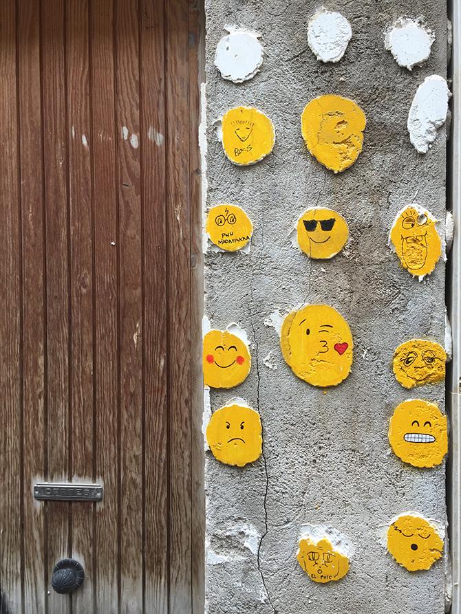 Streetart in Tarragona Spanien